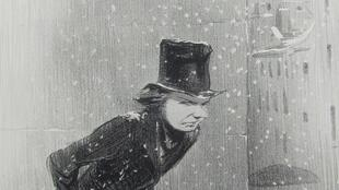 Honoré Daumier. EMOTIONS PARISIENNES / Un Monsieur au-dessous de ses affaires.